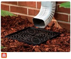 Add the look of a buried drain without the cost! Gardening Tools, Home Hardware, Basin