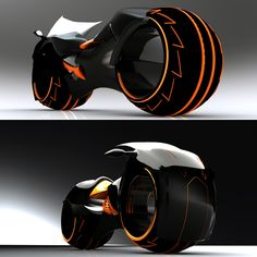 Tron Light Cycle by Wallace Campbell » Yanko Design