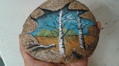 Art rock ...Acrylique sur roche Les Oeuvres, Painted Rocks, Turtle, Rock Painting, Stones, Animals, Art, Painted Stones, Animales