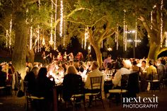 Light up your reception with sparkly strands of fairy lights | Next Exit Photography