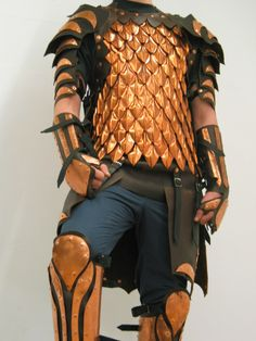 scale armour by ~Brindacier on deviantART