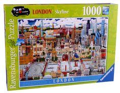 Ravensburger 19201 - Puzzle Londra, orizzonte, 1000 pezzi: Amazon.it: Giochi e…