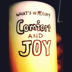 What's in your cup this December morning?