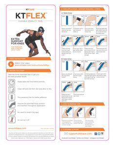 KT Flex Reinforced Knee Support StripsInstructions -- Buy KT Flex  at: http://www.theratape.com/kt-flex-reinforced-strips-for-knee-support.html