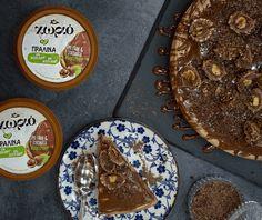 Cheesecake πραλίνα | Συνταγή | Argiro.gr - Argiro Barbarigou Candy Crash, Food Categories, Yams, Sweet Tooth, Cheesecake, Pudding, Pie, Fruit, Desserts