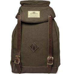 Climbers Lightweight Canvas Backpack