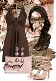 """ChocolateApricot"" by hollyhalverson on Polyvore"