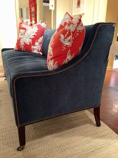 beautiful blue martingale sofa for the julie browning bova home collection for stanford furniture browning furniture