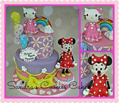 Hello Kitty & Minnie cake !!!