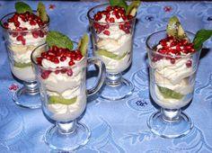 O kuchni z uczuciem : Deser śmietanowo-owocowy