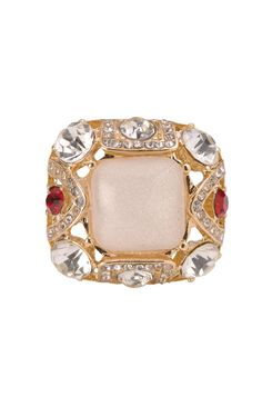 Ivory Rock Ring Rs. 1250/- http://www1.juvalia.in/jewellery/rings/ivory-rock-ring.html #ring #ValentinesDay #gift #drophimahint