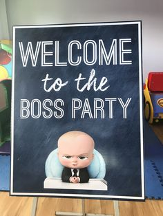 Can't get over the cutness of The Boss Baby movie? Check out this amazing the Boss Baby poster collection. Baby Boy 1st Birthday Party, 1st Birthday Themes, Baby Party, Birthday Ideas, Happy Birthday Boss, Baby Posters, Boss Baby, Baby Shower, Party Ideas
