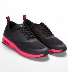 competitive price 5182a d5911 Nike Air Max Thea Damskor svart atomic pink