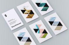Storehouse logo visual corporate identity design branding stationary photography business card graphic branding