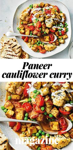 This veggie curry is packed with flavour and comes in at under 400 calories per serving. Serve with flatbread or naan for dipping