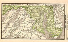 1888 Antique Miniature Maryland Map Original Vintage Rare... https://www.amazon.com/dp/B01KSCQ6V6/ref=cm_sw_r_pi_dp_x_m5GUxb00W0Y1C