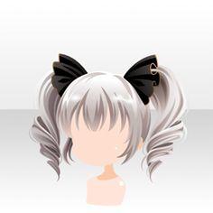 Peinado Soapcat Ribbon Twin Tail Blanco