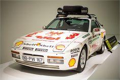 """Porsche 944 Turbo Dauertestfahrzeug """"Bleifrei um die Welt"""" (1986)"""