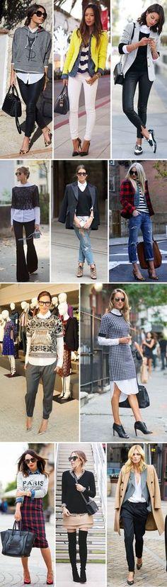 Estilo Meu - Consultoria de Imagem / looks com sobreposição de peças / mulheres estilosas /stylish women / layers / look em camadas / produções de inverno / dicas de moda / personal stylist tips / fashion tips / dicas de moda e estilo