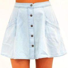 Free People Highwaist Circle Skirt