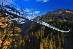 Die längste Hängebrücke Österreichs- Lechweg - von der Quelle bis zum Fall