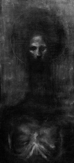 creepy art  Zdzisław Beksiński