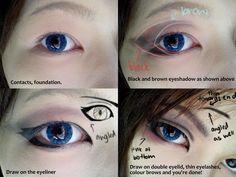 Cosplay eyes!