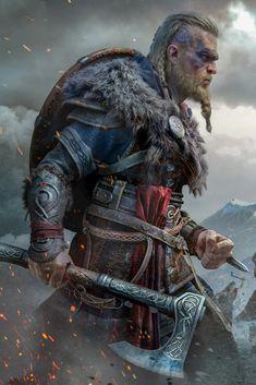 Tatouage Assassins Creed, Arte Assassins Creed, Assassins Creed Odyssey, The Assassin, Assasing Creed, Assassin's Creed Wallpaper, Character Art, Character Design, Viking Character