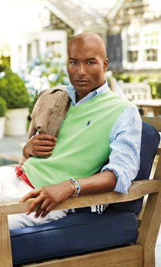 """Lightweight layers and bright pops of color are perfect for a warm-weather getaway."" Ralph Lauren"