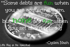 Debt Free Living: A Confession and a Renewed Commitment!