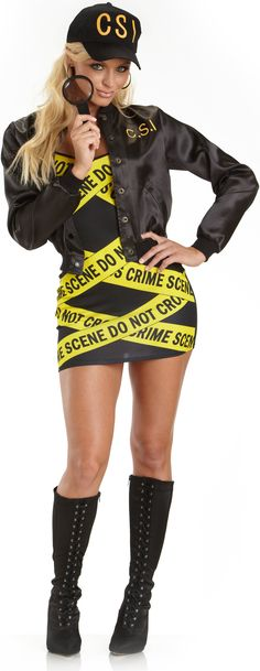 CSI Adult Costume She's a Hottie searching for the Body. Details  4.5     Read Reviews (9) | Write a review   Price:     $59.99