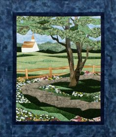 Country Road pieced quilt pattern by Cynthia England at England Design