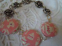 Armband Shabby Chic Tee von Happy Lilly auf DaWanda.com
