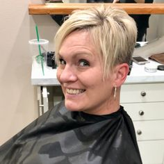 "633 Likes, 5 Comments - @shorthair_love on Instagram: ""Hair by Jenessa. Check out her FB page: https://www.facebook.com/HairByJenessa/ #shorthairlove…"""