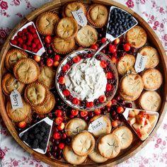 Mini Peach Pies, Mini Pies, Charcuterie Recipes, Charcuterie And Cheese Board, Cheese Boards, Appetizer Recipes, Dessert Recipes, Appetizers, Party Food Platters