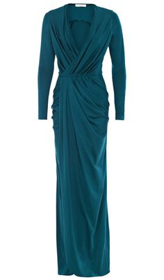 AUSTIQUE LEONE MAXI WRAP DRESS TEAL - New In - New In | Austique
