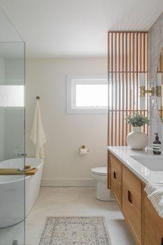 House on the Battlefield Bathroom Renovation — Lauren Bradshaw Design Spa Bathroom Decor, Bathroom Styling, Modern Bathroom, Small Bathroom, Master Bathrooms, Bathroom Ideas, Small Toilet Room, Bathroom Showers, Contemporary Bathrooms