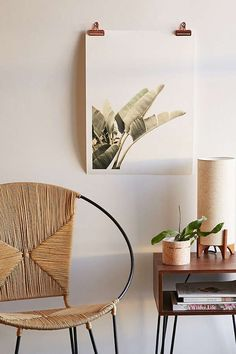 Hanging decor: palm print hanging wall decor