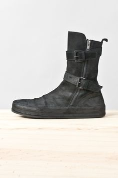finest selection f56b3 15220 Ann Demeulemeester - reverse leather vitello sneaker boot Sneakers Mode,  Herrmode, Moma, Skor