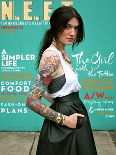 N.E.E.T. magazine september/2011 i just love her blog and etsy