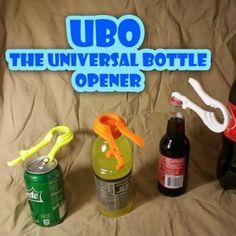 Abridor Universal,puedes abrir latas, botellines de vidrio, botellas de plástico, ...