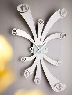 brandani 59867 orologio da parete octopus acciaio inox - OROLOGI DA PARETE E A CUCU - OROLOGI - OGGETTI DI CASA - benvenuto da TOPCASASHOP.I...