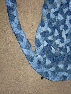The Braided Denim Rug Tutorial