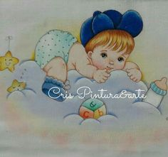 Tweety, Smurfs, Fictional Characters, Baby Art Crafts, Girl Paintings, Baby Painting, Bedspreads, Needlepoint, Dressmaking
