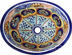 Mexican Ceramic Sinks Bathroom
