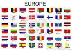 Illustration about List of all European country flags. Illustration of european, greece, europe - 12977649 Flags Of European Countries, Countries Europe, European Flags, Countries And Flags, Countries Of The World, All World Flags, World Country Flags, Flag Country, Country Names