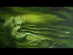 Green Sea - Painting Lesson - YouTube