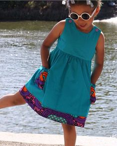 Kitenge Designs for See Over 150 Kitenge Design Photos Ankara Styles For Kids, African Dresses For Kids, African Children, African Print Fashion, African Fashion Dresses, African Attire, African Wear, Baby Girl Fashion, Kids Fashion