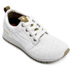 68f29257a6c Compre Tênis Coca-Cola Sense Branco e dourado na Zattini a nova loja de  moda online da Netshoes. Encontre Sapatos