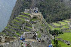 Ciudad Inka de Machupicchu o Machu Picchu Peru Intihuatana 02